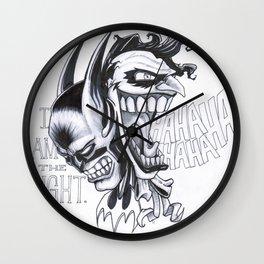 Bats & Jokes Wall Clock
