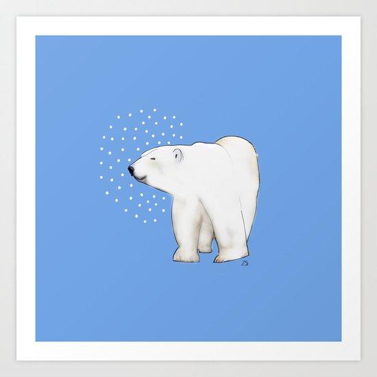 Polar Bear #8 Art Print
