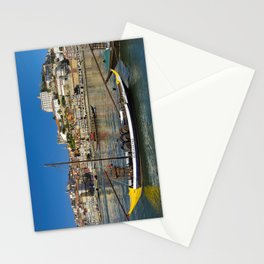 Port wine barges on the Douro, Porto Stationery Cards