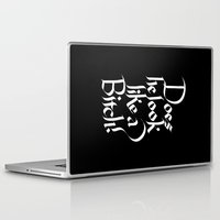 pulp Laptop & iPad Skins featuring Pulp Calligraphy by Matthew Bartlett
