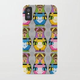 Chestnut Girl Matrioshkas iPhone Case