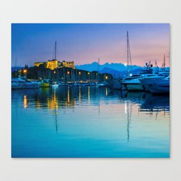 Port Vauban Antibes Canvas Print