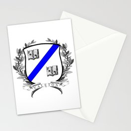 Valeton University Crest Stationery Cards