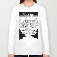 salt water Long Sleeve T-shirts featuring Salt by Joshua Flinn