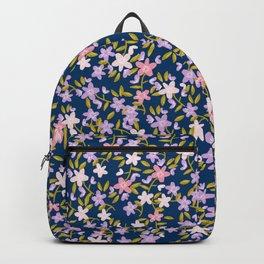 Garden Ditzy - Purple Backpack
