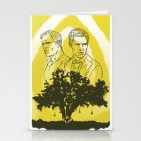 true detective Stationery Cards featuring True Detective by Gavin Guidry
