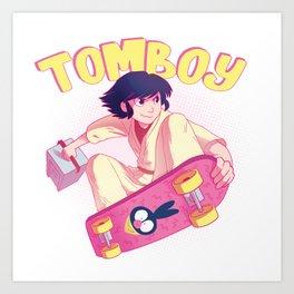 90's Tomboy Art Print