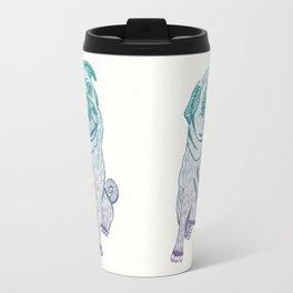 Duotone Pug Travel Mug