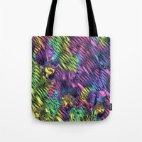 psychedelic Tote Bags featuring Psychedelic by Dorothy Pinder
