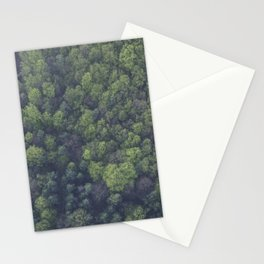 FOREST - TOP - VIEW - PHOTOGRAPHY Stationery Cards