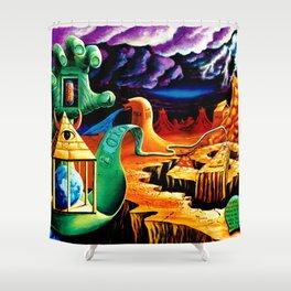 The Practical Deception by Vincent Monaco Shower Curtain