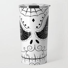 Jack's Skull Sugar (Vector Mexican Skull) Travel Mug