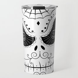 Jack's Skull Sugar (Vector Mexican Skull) Travel Mug