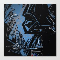 darth Canvas Prints featuring Darth by Rimadi