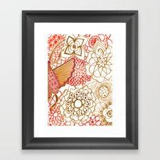 Deliria Framed Art Print
