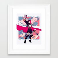 fire emblem awakening Framed Art Prints featuring Awakening by Blue