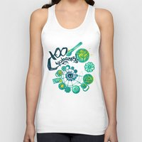 the 100 Tank Tops featuring 100 Cupboards by Lynore Avery