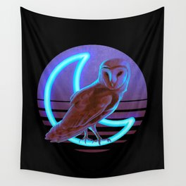 Night Owl Wall Tapestry