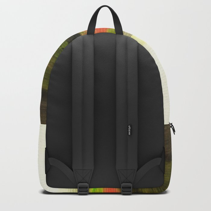 Watercolor abstract landscape 18 Backpack
