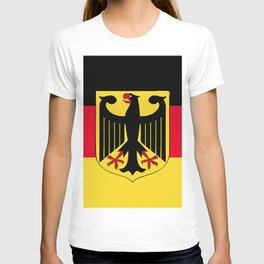 Germany flag emblem T-shirt