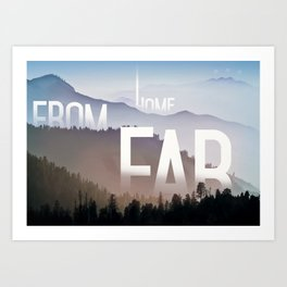 Far from Home Art Print