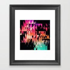 symmyr glyss Framed Art Print