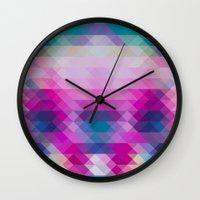 spice Wall Clocks featuring spice by Marta Olga Klara