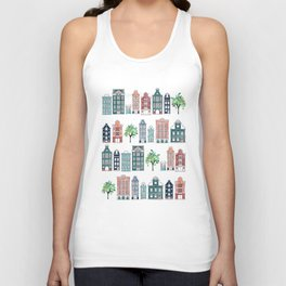 Amsterdam neighbourhood Unisex Tank Top