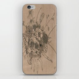 Hermit Crab-Evolution iPhone Skin