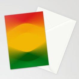 Rasta Color Harmony Stationery Cards