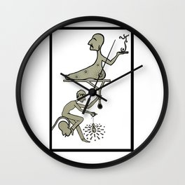 Let it Shine Wall Clock