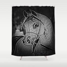 Freshtastic Horse 07-02 Shower Curtain