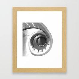Escalera de caracol (Spiral staircase)  Framed Art Print