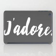 j'adore iPad Case