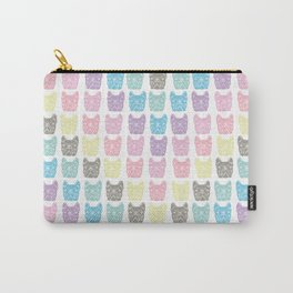 Frenchie chevron Carry-All Pouch