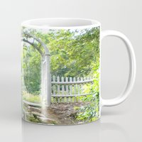 cape cod Mugs featuring Cape Cod Escape by JezRebelle