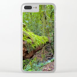 Into the Jungle Clear iPhone Case