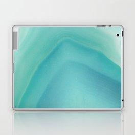 Geode Crystal Turquoise Laptop & iPad Skin