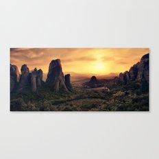 Meteorama Canvas Print