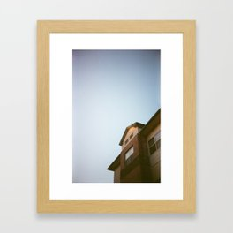 Homey Framed Art Print