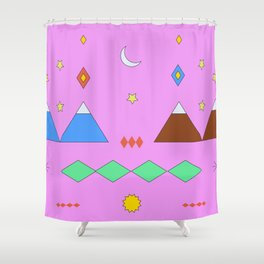 Visiting Temuco Shower Curtain