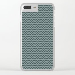 Night Watch PPG1145-7 Chevron Zigzag Horizontal Lines Scarborough Green PPG1145-5 Clear iPhone Case