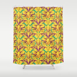 Tribal Pattern 1 Shower Curtain