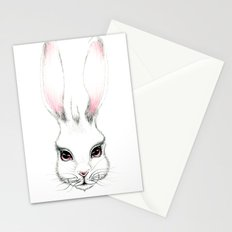 Alice in Wonderland Inspired Hare Pencil Illustration Stationery Cards