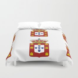 Country Crowns Duvet Cover