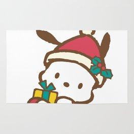 It's Christmas for Pochaco Sanrio Rug