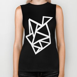 Ab Outline Thicker Black Biker Tank