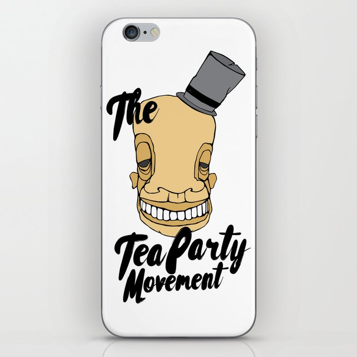 The tea party iPhone Skin