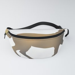 Horse - Running - Brown Fanny Pack