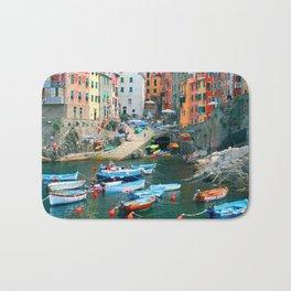 Italy. Cinque Terre marina Bath Mat
